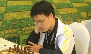 Quang Liêm không trọn niềm vui ở ngày đầu giải cờ vua HDBank 2018