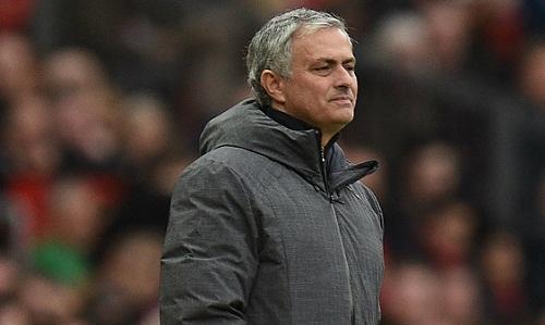 Mourinho cho rằng trận đấu với Liverpool luôn nằm trong tầm kiểm soát của Man Utd. Ảnh: AFP.