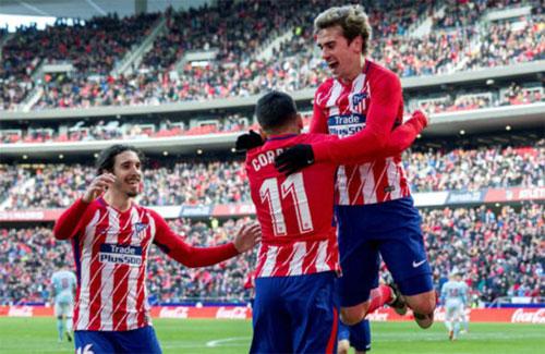 Griezmann (phải) truyền cảm hứng đưa đội nhà đến chiến thắng. Ảnh: Marca