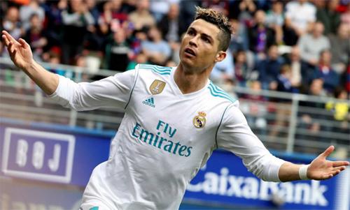 Ronaldo liên tục ghi bàn mỗi khi vào sân thời gian gần đây. Ảnh: Reuters