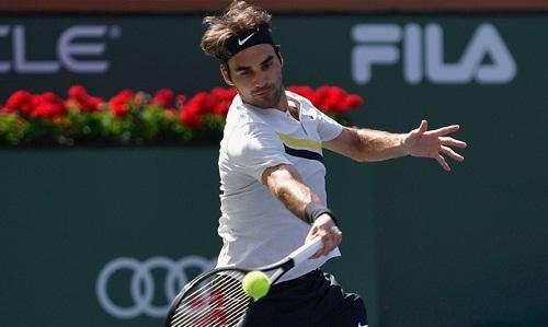 Federer rộng cửa giành danh hiệu Indian Wells thứ sáu. Ảnh: BNP.