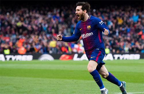 Sự thách thức về tài chính có thể càng khiến các đại gia muốn mua Messi. Ảnh: Reuters
