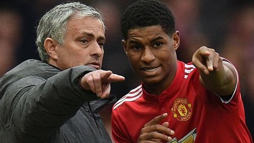 Rashford thừa nhận, anh học hỏi được nhiều dưới sự chỉ bảo của Mourinho. Ảnh: Reuters.