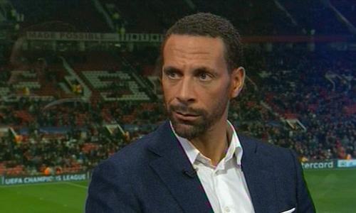 Ferdinand không nhận ra hình hài đội bóng cũ tối 13/3. Ảnh: BT Sport.