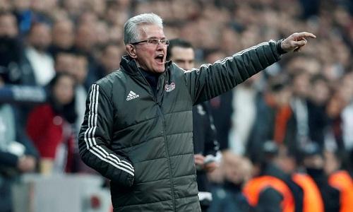 Heynckes lập kỷ lục với trận thắng thứ 11 liên tiếp ở Champions League. Ảnh: Reuters.