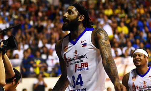 Cựu sao NBA Renaldo Balkman ghi 34 điểm giúp Alab Pilipinas thắng đậm Saigon Heat. Ảnh: ABL.