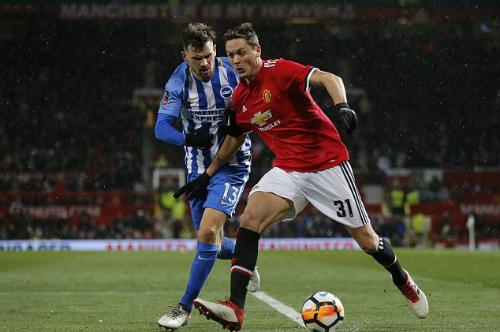 Matic là hình mẫu Mourinho mong muốn ở các tân binh. Ảnh:AP.