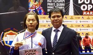 Việt Nam giành HC đồng giải karate thế giới