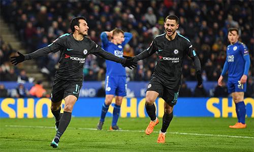 Chelsea dễ thở khi chỉ gặp Southampton ở bán kết. Ảnh: AFP.