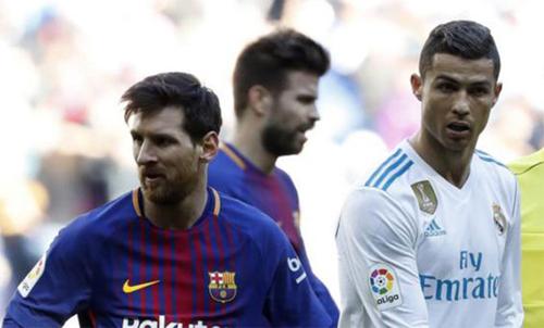 Ronaldo mới ghi bốn bàn vào lưới Girona để rút ngắn cách biệt so với Messi. Ảnh: Marca