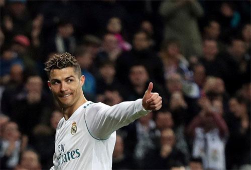 Ronaldo đang ghi bàn như một cỗ máy. Ảnh: Reuters