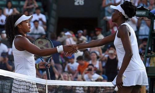 Osaka từng hai lần đối đầu với Venus Williams. Ảnh: Reuters.
