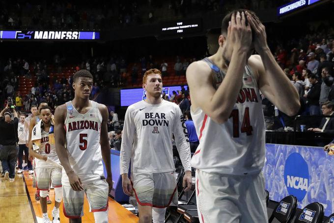 Giải bóng rổ đại học Mỹ chứng kiến nhiều cú sốc trong 'Tháng Ba Điên'