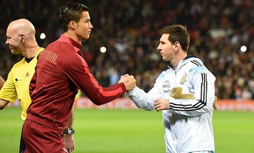 Cuộc chiến giữa Messi và Ronaldo kéo dài trong một thập kỷ qua. Ảnh: AFP.