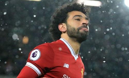 Salah đã ghi 28 bàn qua 28 trận đá chính tại Ngoại hạng Anh mùa này. Ảnh: SS.