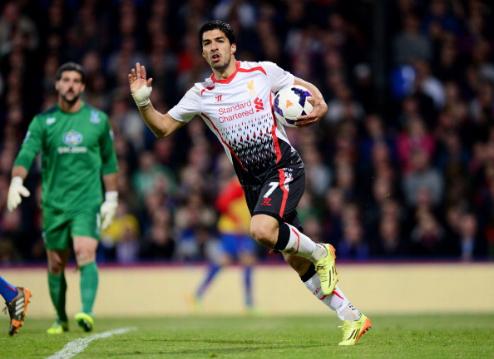 Suarez là cầu thủ gần nhất của Liverpool giành Vua phá lưới Ngoại hạng Anh. Ảnh:AFP.