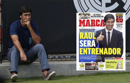 Raul sẽ trở lại bóng đá trong vai trò HLV.