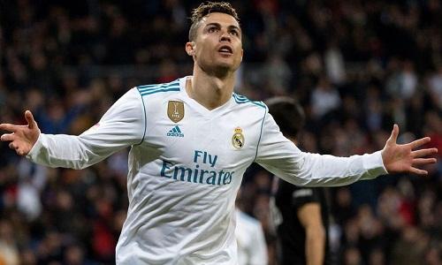 Ronaldo đã có 50 cú hat-trick trong sự nghiệp. Ảnh: REX.