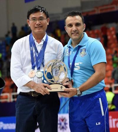 Bầu Tú là người đóng góp lớn cho phong trào futsal, tạo tiền đề quan trọng đưa bóng đá Việt Nam lần đầu đến World Cup.