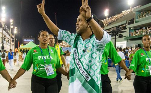 Ronaldinho là một biểu tượng thể thao tại Brazil. Ảnh: Globo