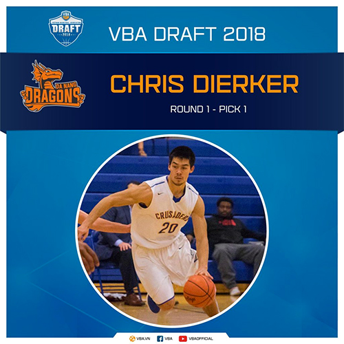 Dierker hứa hẹn là sự bổ sung sáng giá, có thể giúp Dragons đổi vận tại giải 2018.