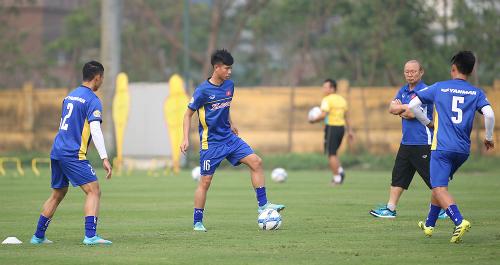 HLV Park Hang-seo chỉ có bốn ngày tập trung đội tuyển chuẩn bị cho trận đấu với Jordan.