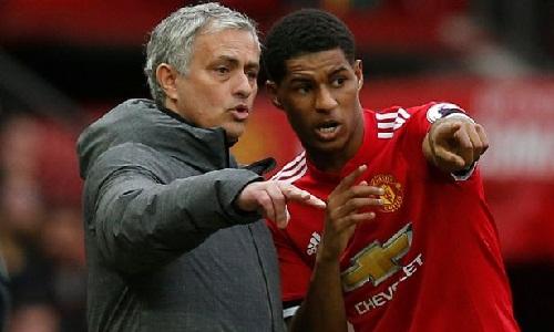 Mourinho bị chỉ trích vì cách sử dụng Rashford. Ảnh: Reuters.