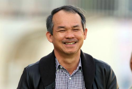 Bầu Đức là người góp phần đem lại nhiều màu sắc cho bóng đá Việt Nam. Ảnh: Đức Đồng.