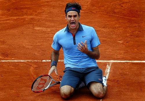 Federer mới một lần vô địch Roland Garros, vào năm 2009. Ảnh: AFP.