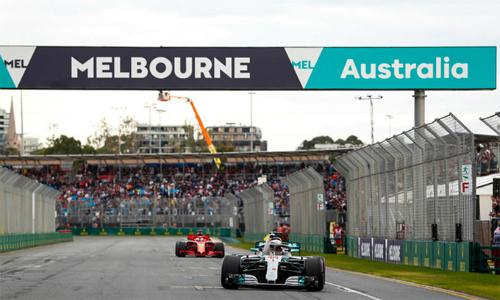 GP Australia mở đầu cho mùa giải F1 2018 hứa hẹn sôi động với nhiều thay đổi. Ảnh: LatImages.