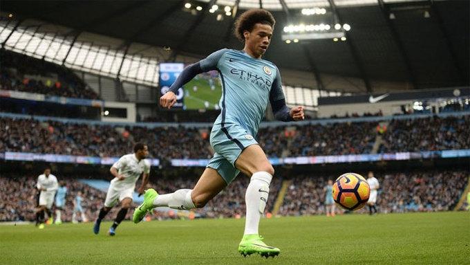 10 cầu thủ nhanh nhất Ngoại hạng Anh mùa 2017-2018
