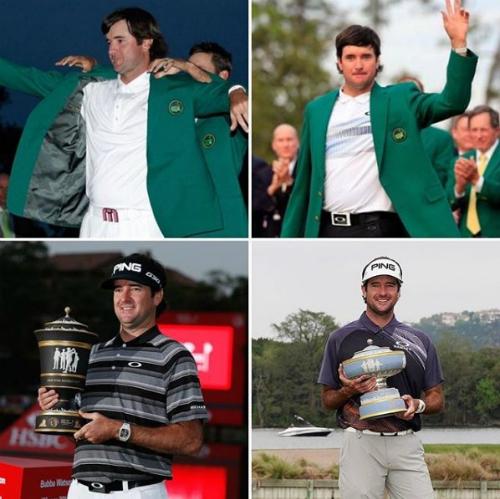 Bubba Watson có ít nhất hai lần vô địch tại cả hai hệ thống giải major và World Golf Championship. Ảnh: Golf Channel.