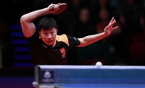 Mã Long đoạt cú đúp danh hiệu ở Đức Mở rộng 2018. Ảnh: ITTF.