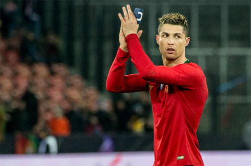 Ronaldo ghi 19 bàn trong chín trận gần nhất cho cả Real và tuyển Bồ Đào Nha. Ảnh: Reuters