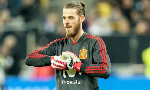 De Gea chờ đợi cơ hội được so tài với Messi. Ảnh: Reuters.