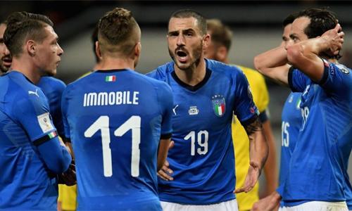 Bonucci cho rằng các cầu thủ trẻ của Italy cần thời gian để trưởng thành. Ảnh: Reuters.