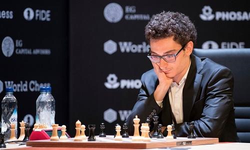 Caruana được kỳ vọng trở thành Vua cờ người Mỹ đầu tiên sau Bobby Fischer. Ảnh: AP.