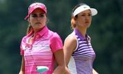 Hai mỹ nhân làng golf khoe sắc, đọ tài ở giải major nữ đầu tiên