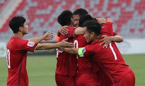 Việt Nam có cơ hội vào bảng dễ chịu ở VCK Asian Cup 2019. Ảnh: Đoàn Huynh.
