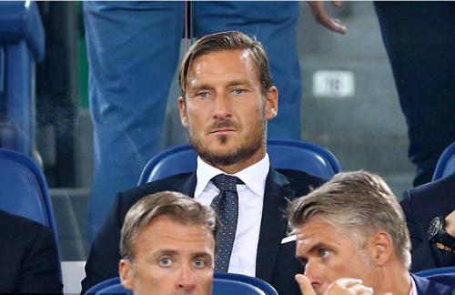 Totti hiện tại là thành viên điều hành của Roma. Ảnh:AFP.