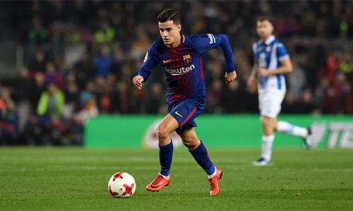 Coutinho không thể đá cho Barca ở Champions League mùa này. Ảnh: Reuters.