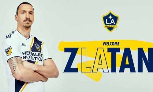 Ibrahimovic hiện chỉ nhận lương 1,5 triệu đôla một năm. Ảnh: LA Galaxy.