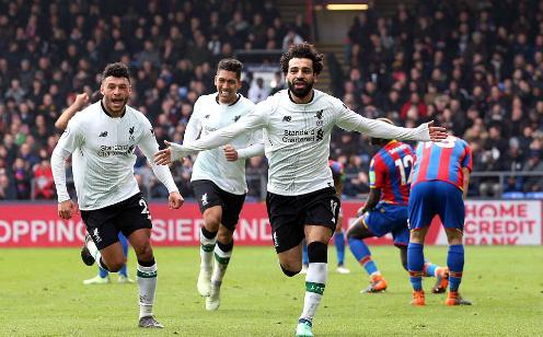 Salah ghi bàn thứ 37 cho Liverpool trên mọi đấu trường. Ảnh:BPI.