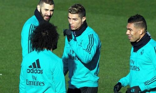 Ronaldo muốn Real nâng cấp đội hình trong hè 2018. Ảnh: Reuters.