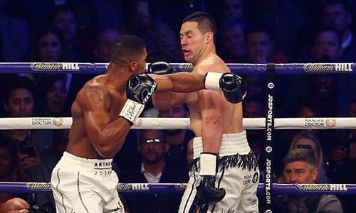 Joshua có cơ hội trở thành nhà vô địch tuyệt đối của quyền Anh hạng nặng. Ảnh: EPA.