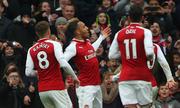 Ghi ba bàn trong 15 phút cuối, Arsenal đại thắng Stoke
