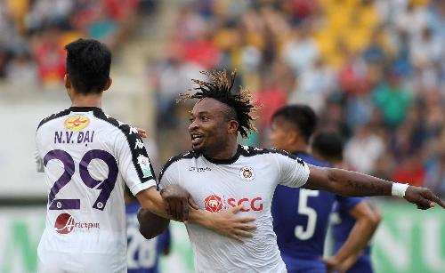 Hà Nội đã có khởi đầu tốt nhờ bàn mở tỷ số của Oseni nhưng không thể ra về với chiến thắng.