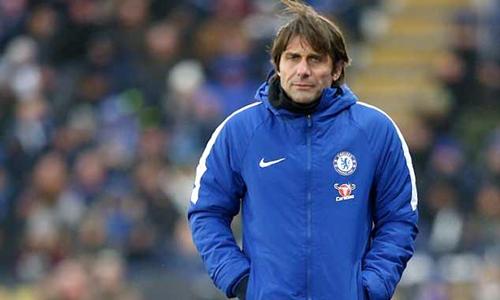 Conte còn hợp đồng một năm với Chelsea. Ảnh: PA.
