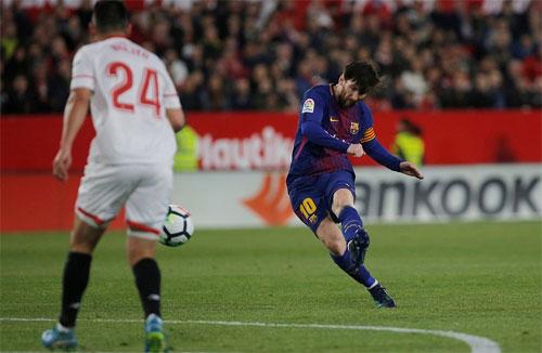 Sự có mặt của Messi giúp Barca cải thiện khâu tấn công.