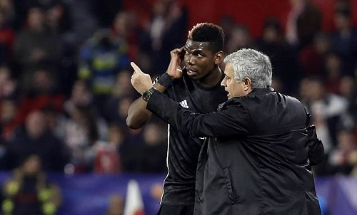 Pogba vẫn tôn trọng Mourinho. Ảnh: AP.